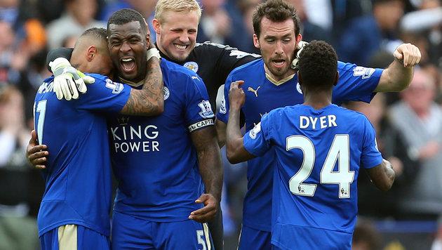 Leicester 16 Jahre nach Hütteldorf im Europacup? (Bild: GEPA)