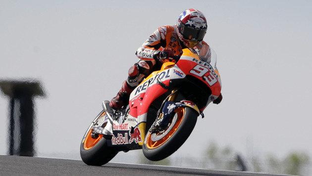 Marquez erobert MotoGP-Poleposition in Austin (Bild: ASSOCIATED PRESS)