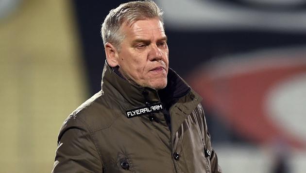 "Neues Amt: Baumeister wird Admiras ""Wachmann"" (Bild: APA/HERBERT P. OCZERET)"