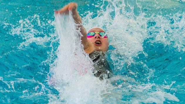 Pilhatsch schafft über 100 m Rücken Olympia-Limit (Bild: GEPA)