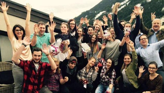 18 Schüler haben Ideen für ein perfektes Hotel für die Nachfolge-Generation gesammelt. (Bild: Comma)