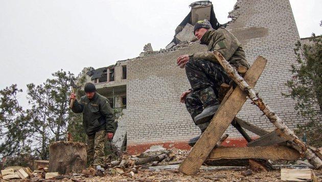Ukraine-Konflikt: Schwere Gefechte in Donezk (Bild: EPA)