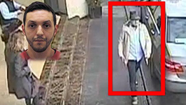 """Verdächtiger gefasst: Ist er der """"Mann mit Hut""""? (Bild: ASSOCIATED PRESS, APA/AFP/JOHN THYS)"""