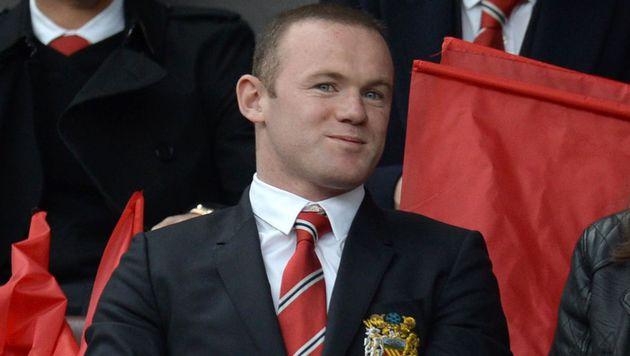 Wayne Rooney in ManUniteds Reserve-Team (Bild: APA/AFP/OLI SCARFF)