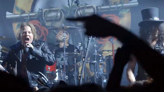 Guns N' Roses: Tourstart in Las Vegas (Bild: twitter.com/gunsnroses)
