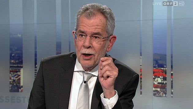 """Hofer: Diese Regierung begeht """"Suizid mit Anlauf"""" (Bild: tvthek.orf.at)"""
