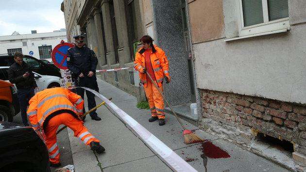 Wien: Ehepaar nach Messerstecherei schwer verletzt (Bild: Peter Tomschi)