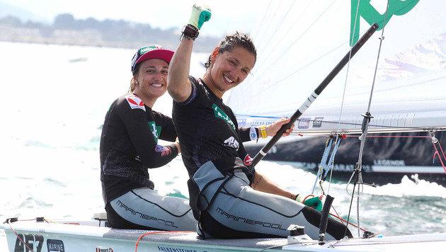 Lara Vadlau und Jolanta Ogar (Bild: APA/OESV/DOMANSKI)