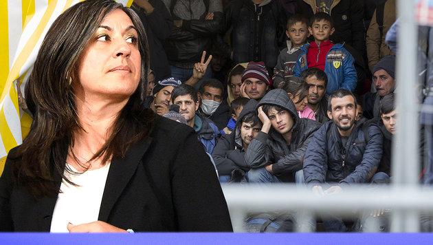 """Maria Vassilakou: """"Jetzt fehlt ein Marshallplan!"""" (Bild: APA/Helmut Fohringer, APA/Erwin Scheriau)"""