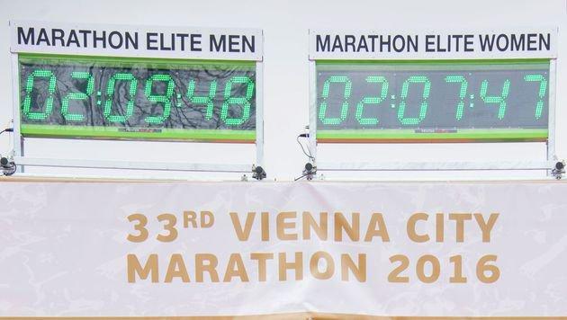 Robert Chemosin gewinnt 33. Wien-Marathon (Bild: AFP or licensors)