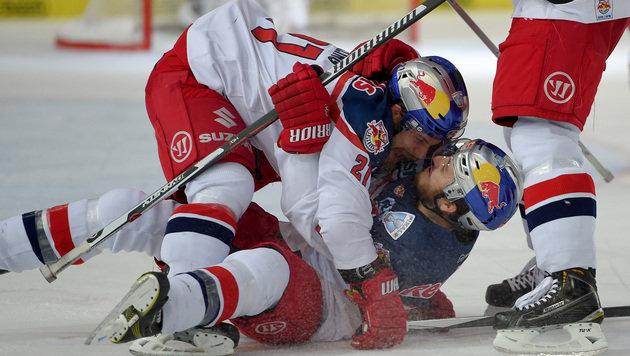 Salzburg erspielt sich in EBEL-Finale Matchpuck (Bild: GEPA)