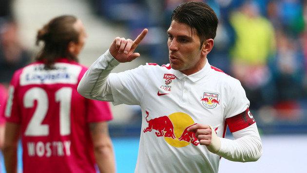 Soriano schießt RB Salzburg gegen Admira zum Sieg! (Bild: GEPA)