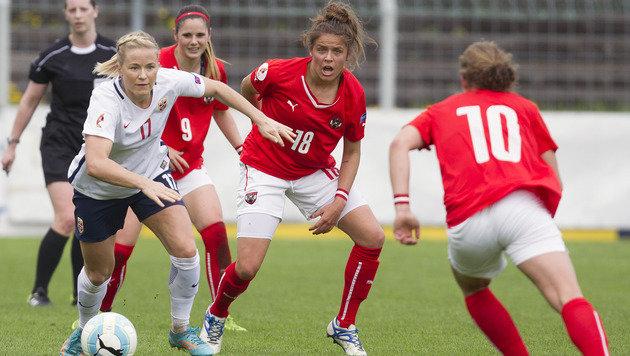Starke ÖFB-Damen unterliegen Vize-EM-Champ nur 0:1 (Bild: GEPA)