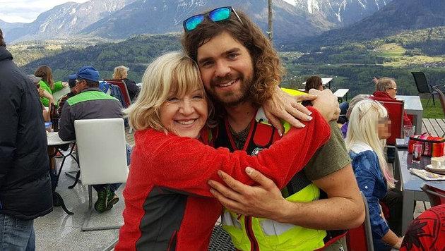Agnes Koller und ihr Retter Manuel Reiner (Bild: KK)
