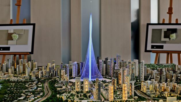 """Mit """"The Tower"""" übertrifft sich Dubai selbst (Bild: Associated Press)"""