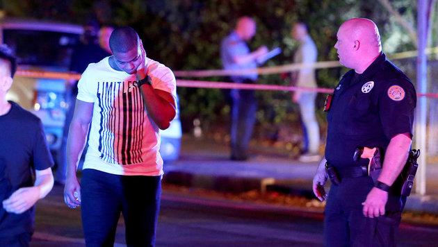 Ex-Footballprofi Will Smith nach Unfall erschossen (Bild: AP)