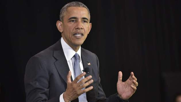 US-Pr�sident Barack Obama (Bild: AFP)
