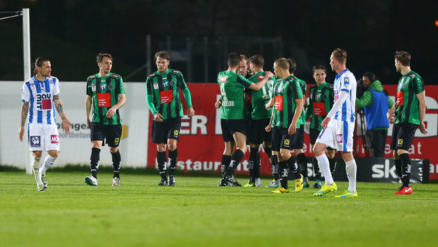 Innsbruck legt im Erste-Liga-Titelkampf vor (Bild: GEPA)