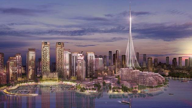 """Mit """"The Tower"""" wird die Skyline von Dubai um ein Mega-Geb�ude reicher. (Bild: Emaar Dubai)"""