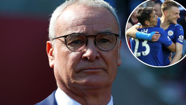 """Ranieri-Mama: Claudio """"ist der König von England"""" (Bild: APA/AFP/LINDSEY PARNABY)"""