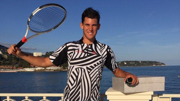 """Thiem: """"Gegen Nadal zu spielen ist traumhaft!"""" (Bild: Kurt Schal)"""