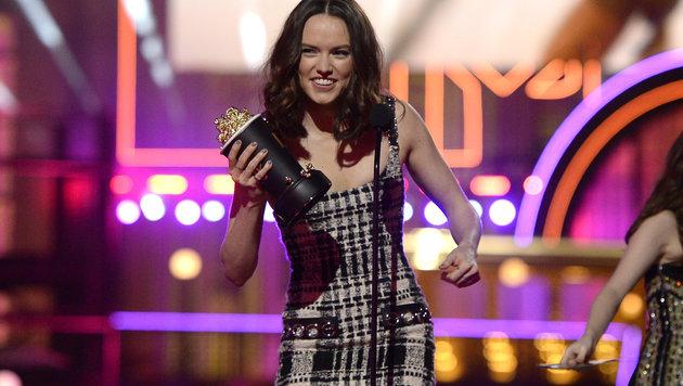 """""""Star Wars""""-Star Daisy Ridley wurde für die """"beste Durchbruchsperformance"""" ausgezeichnet. (Bild: Kevork Djansezian/Invision/AP)"""