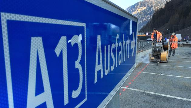 Brenner: Italien schaltet EU-Kommission ein (Bild: APA/ZEITUNGSFOTO.AT)