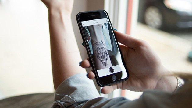 """Tattoo-App sucht euch perfektes Motiv (Bild: verizonwireless.com)"""