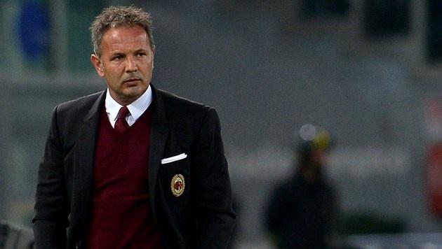 AC Milan trennt sich von Trainer Sinisa Mihajlovic (Bild: AFP)