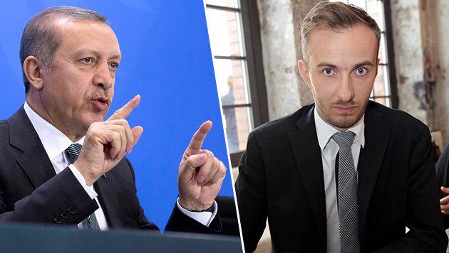 Böhmermanns Erdogan-Gedicht ist nicht strafbar (Bild: AP, APA/AFP/dpa/JORG CARSTENSEN)