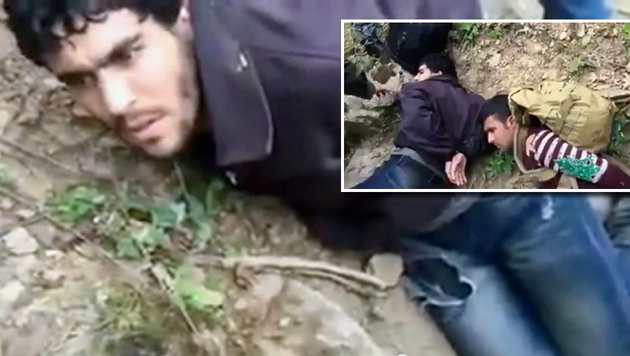 "Bulgarien: ""Patrioten"" machen Jagd auf Flüchtlinge (Bild: YouTube.com)"