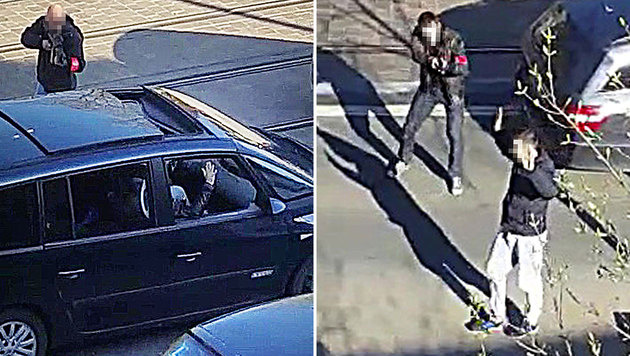Drei Terrorverdächtige in Brüssel festgenommen (Bild: APA/AFP/Belga/STRINGER)
