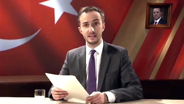 """Mit seiner """"Schmähkritik"""" zog sich Böhmermann den Zorn Erdogans zu. (Bild: Screenshot zdf_neo)"""