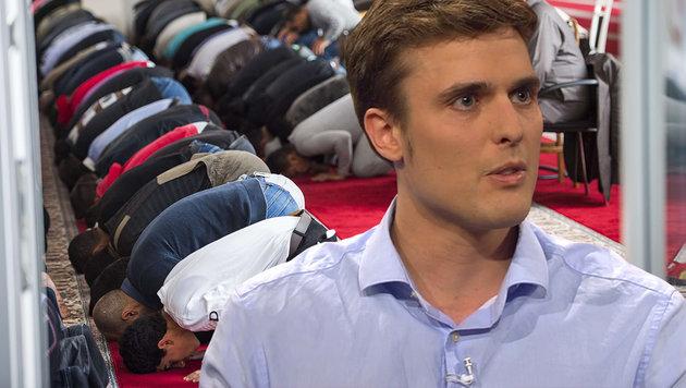 Nahost-Experte Constantin Schreiber (36) warnt �ffentlich vor den Gefahren des Islamismus. (Bild: ARD, dpa)