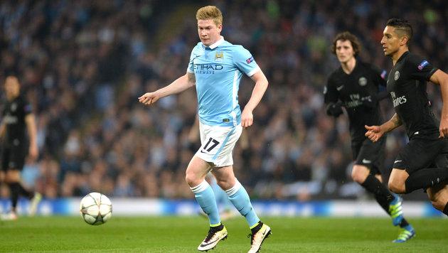 Manchester City zerstört die Titelträume von PSG (Bild: GEPA)