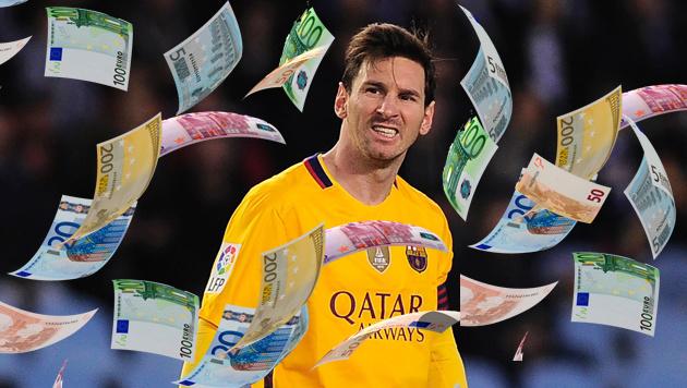 """Messi von Fans attackiert: """"Zahl deine Schulden!"""" (Bild: APA/AFP/ANDER GILLENEA)"""