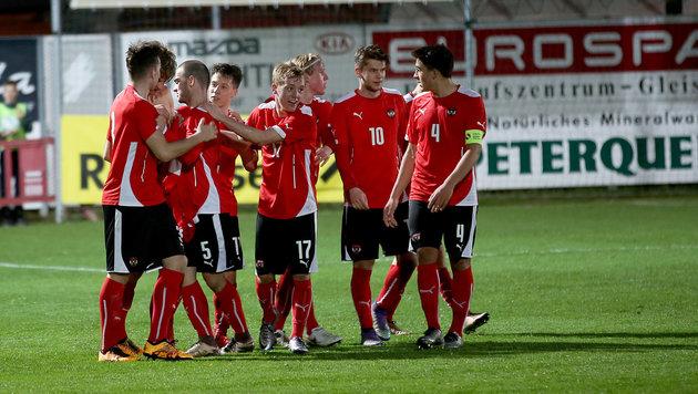 U19-Team gegen Deutschland, Italien und Portugal (Bild: GEPA)