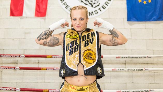Vorsicht, heiß! Box-Champ als sexy Foto-Model (Bild: Andreas Graf)