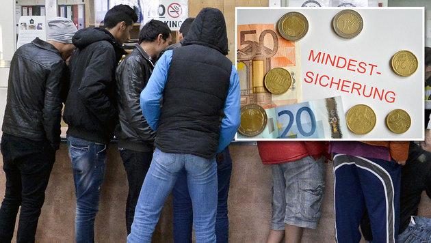 Niederösterreich beschloss Kürzung der Sozialhilfe (Bild: APA/HERBERT NEUBAUER, APA/BARBARA GINDL)