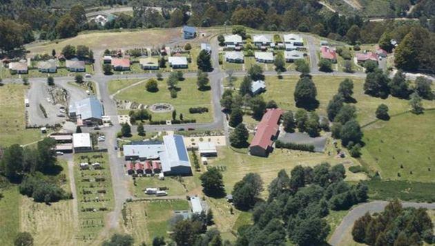 Ein Blick auf die Ortschaft Tarraleah (Bild: knightfrank.com.au)