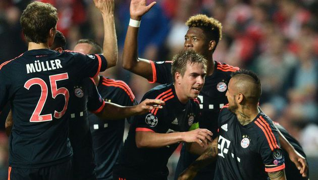 Bayern nach 2:2 gegen Benfica im Halbfinale (Bild: APA/AFP/PATRICIA DE MELO MOREIRA)