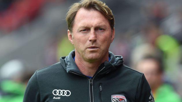 Fix! Hasenhüttl verlässt Ingolstadt zu Saisonende (Bild: APA/AFP/CHRISTOF STACHE)