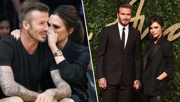 Gerüchte um Ehe-Aus: Abpfiff bei den Beckhams? (Bild: Viennareport, AFP)
