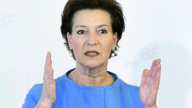 Frauenministerin Heinisch-Hosek begrüßt den deutschen Vorstoß gegen sexistische Werbung. (Bild: APA/HELMUT FOHRINGER)