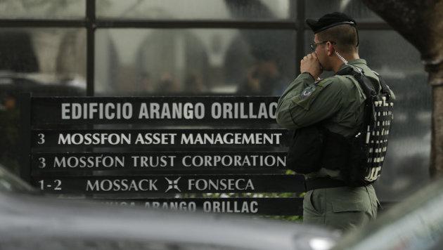 Razzien in Büros der Kanzlei Mossack Fonseca (Bild: AP)
