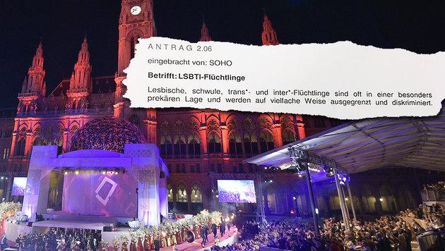 SPÖ will eigene Häuser für homosexuelle Asylwerber (Bild: APA/Hans Punz, Krone-Grafik)