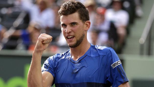 Thiem nach Stotterstart weiter, jetzt wartet Nadal (Bild: AP)