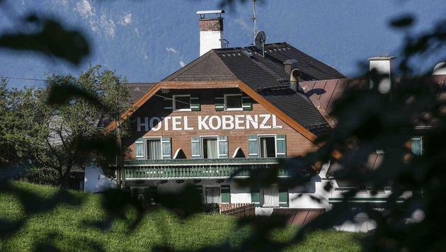 Das frühere Salzburger Luxushotel wurde zum Flüchtlingsverteilerzentrum umfunktioniert. (Bild: MARKUS TSCHEPP)