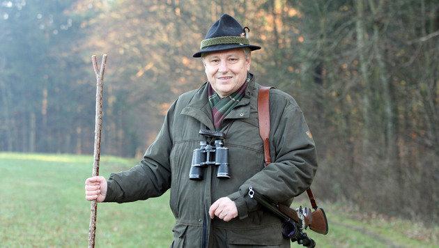 Der steirische Landesjägermeister Heinz Gach (Bild: Jürgen Radspieler)
