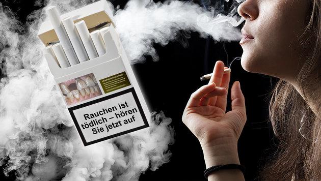Zigaretten: Schockbilder auf Packungen jetzt fix (Bild: thinkstockphotos.de (Symbolbild))